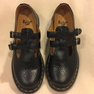 Dr. Martens 8065 Double Strap Mary Jane Sz 9 Shoes